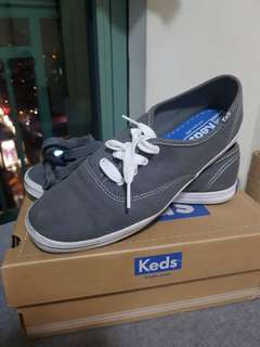 Almost New! Keds Gray Sneakers