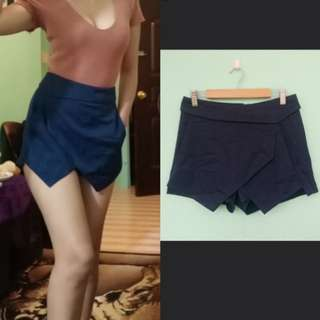 Dark Blue Origami shorts