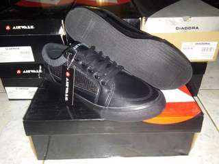 Sepatu Original Casual Airwalk Javis Mono Black AIW17PVM1287
