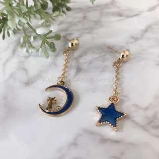 星空系列handmade耳環
