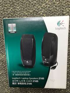 *全新* Logitech Laptop Speakers Z105