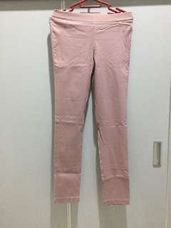 jegging warna salmon pink