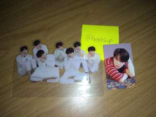 {WTS}BTS OFFICAL PC AND STANDEE