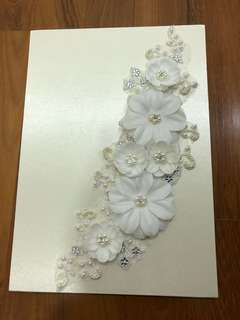 Wedding Guest book for signature or message