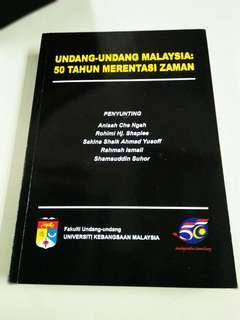 Undang Undang Malaysia: 50 Tahun Merentasi Zaman