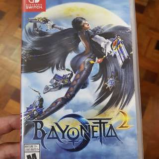 Bayonetta 2 Nintendo Switch For Sale