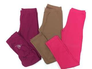 Bundle: Carter's, Campagnie, OshKosh Leggings size 6-7