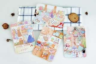 (Instock) Pastel Home Postcards