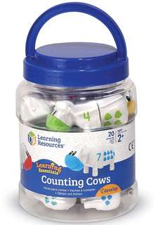 🚚 Learning Resources - Counting Cow Toy set