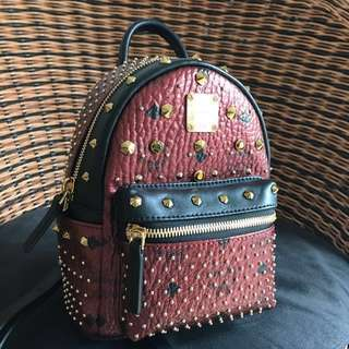 AUTHENTIC MCM X-mini With Swarovski Crystals