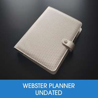 🚚 Webster's Page A5 Planner - Gold Dot