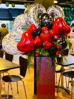 Customized Balloon and Flower Stands