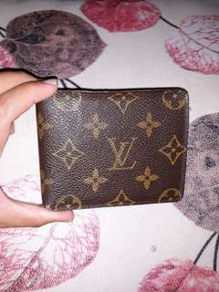 Authentic LV men's wallet