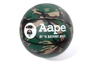 100%正版全新猿人Aape by a bathing ape 標準藍球一個Basket ball