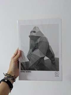 🚚 DIY 3D Geometric Gorilla
