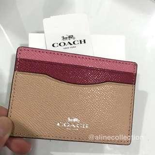 NEW ORI COACH card wallet