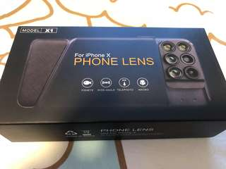 iPhone X 鏡頭電話殼