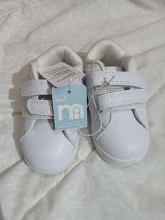 BARU - sepatu putih mothercare size 21.5