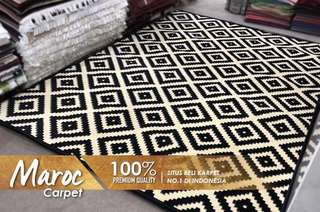 Karpet monochrom maroc