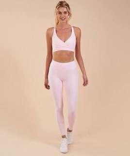 Gymshark chalk pink leggings