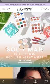 ORDERED! (1.45) COLOURPOP SPREE