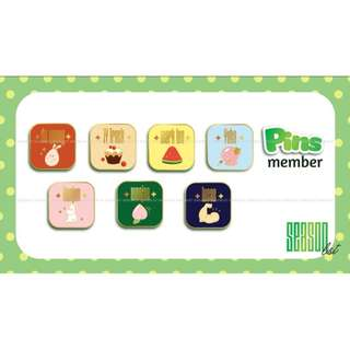 NCT - Enamel Pin & Sticker