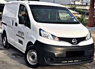 SAMBUNG BAYAR / CONTINUE LOAN  NISSAN NV200 1.6L MANUAL PETROL