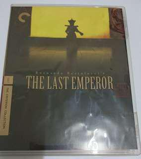 The Last Emperor 末代皇帝溥儀 Criterion Collection CC blu ray