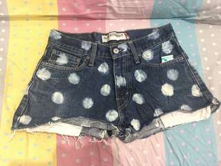levis 514 cropped shorts