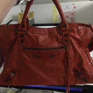 Balenciaga Classic city in rust