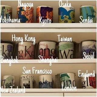 Starbucks Collectors Mugs