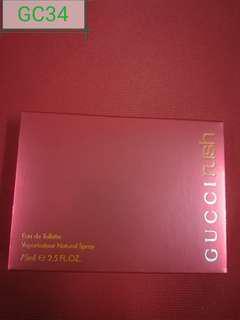 GC21) Gucci Rush edt 75ml