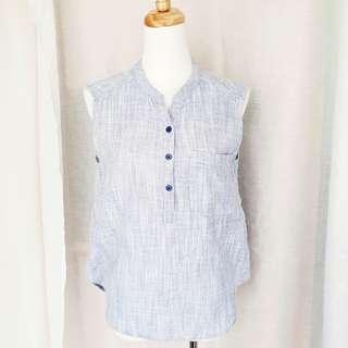 🚚 韓牌H:Connect 二手 棉麻衫