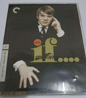 If... 如果 Criterion Collection CC blu ray