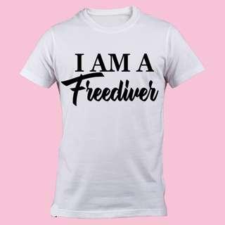 !! FREEDIVING SHIRTS 💓