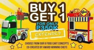 Food Cart Buy 1 Get 1 Free