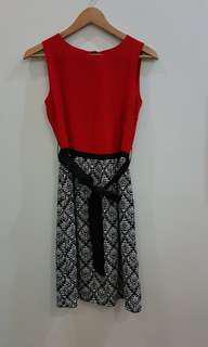 #Disc50% Etoile D'Elfas Red Dress sz 8