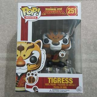 Legit Brand New With Box Funko Pop Movies DreamWorks Kung Fu Panda Tigress Toy Figure