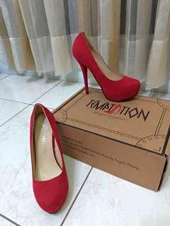 🚚 蕭亞軒Temptation紅高跟鞋