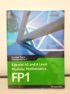 Edexcel GCE A level Mathematics FP1