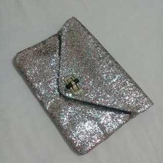 tas pesta clutch glitter