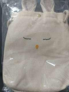 兔兔麻布斜孭袋