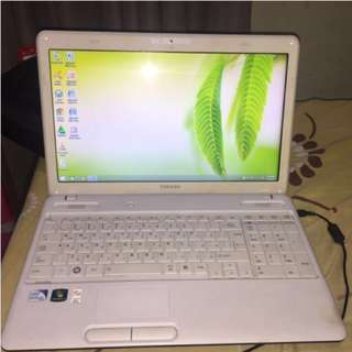 REPRICED!!! TOSHIBA LAPTOP