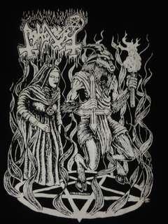 Band Black metal tee
