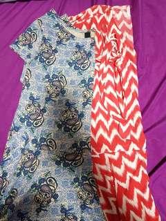 Bundle 2 dresses. Set. Bayo L and Factorie XL