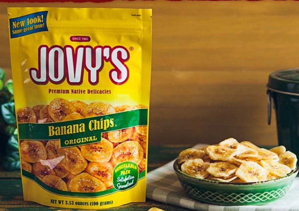 菲律賓 Jovy's 香蕉脆片 100g