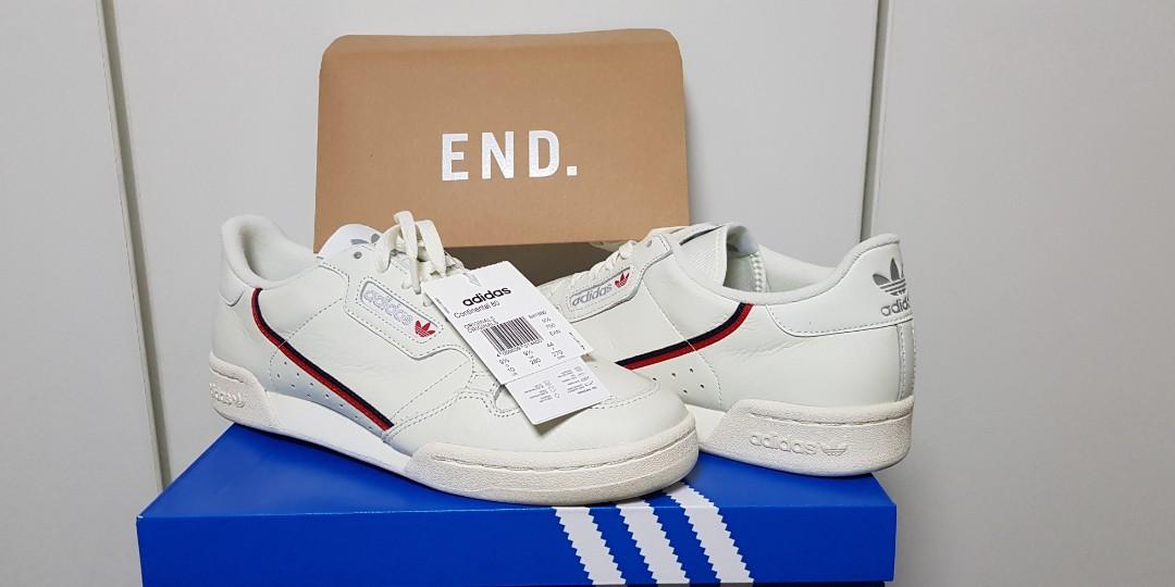 uk availability 31b6b 0d4ae Adidas Continental 80 off whiteRascal, Mens Fashion, Footwea
