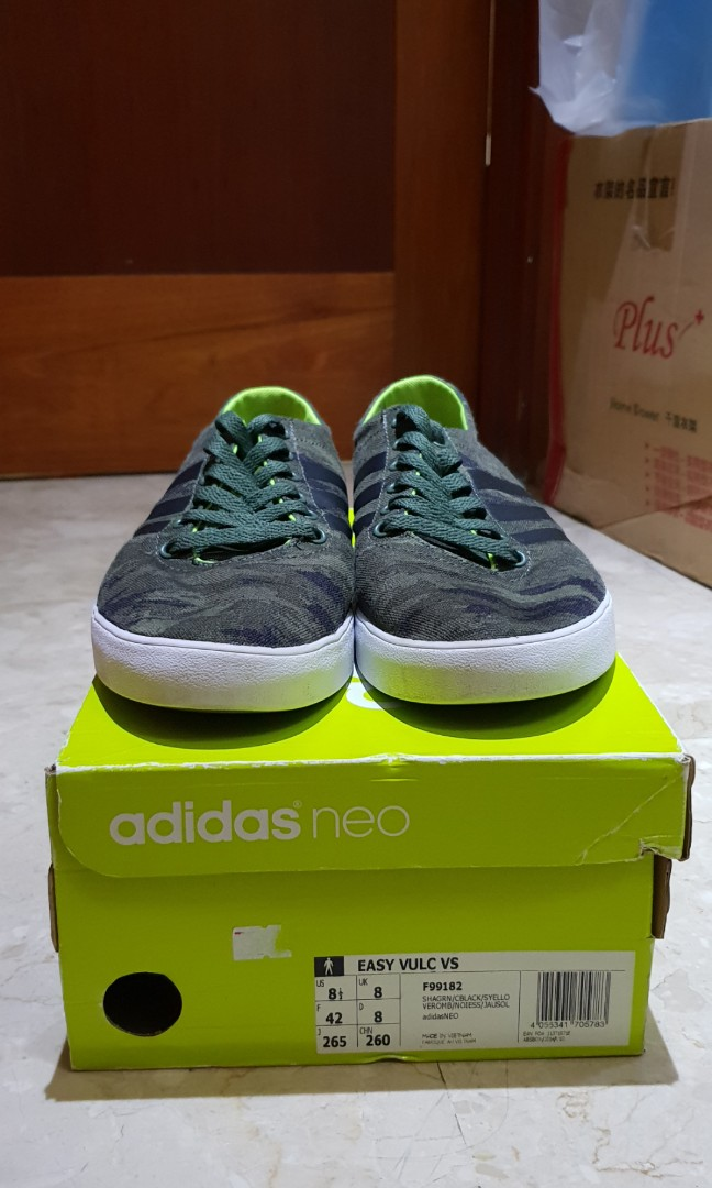 new style e1d3a 129ad Adidas Neo Easy Vulc VS Camo (F99182), Mens Fashion, Footwea