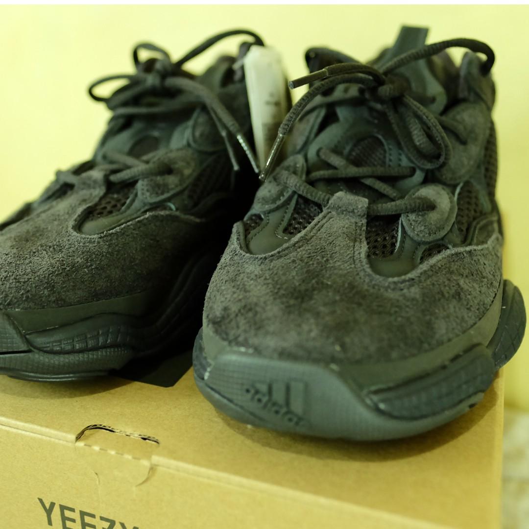 33543ea47c9d1 Adidas Yeezy 500 - Utility Black - Size 10