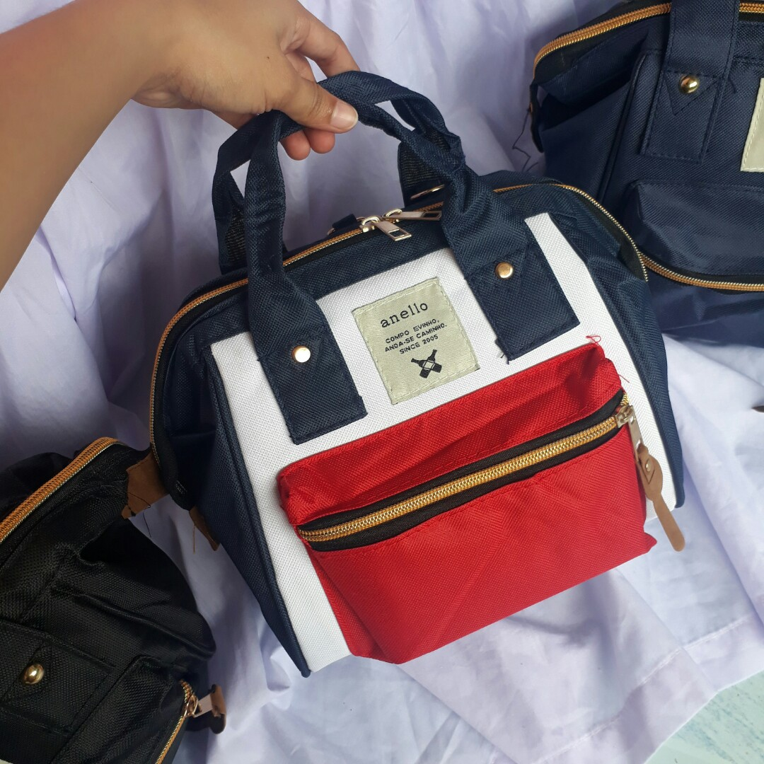 51b598cab9ca Anello 3 way bag, Women's Fashion, Bags & Wallets on Carousell